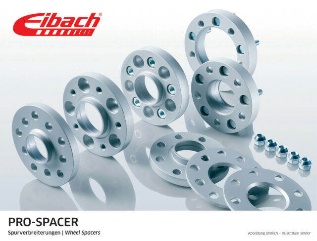 Eibach 15mm Bolt On Hubcentric Wheel Spacers Ford Fiesta Mk7 1.6T ST180 2008-