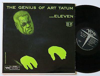 ART TATUM THE GENIUS OF NUMBER ELEVEN RARE US VERVE LP VG++/MINT-