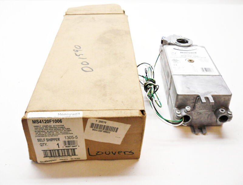 NEW HONEYWELL MS4120F1006 DIRECT COUPLED ACTUATOR 2 POSITION