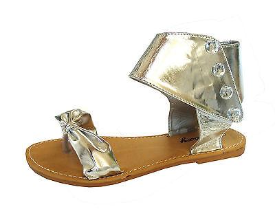 WHOLESALE LOT 36 Pairs Women's Ankle Strap Gladiator Flat Sandals**8058L**