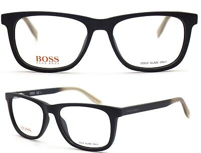 Boss Orange Damen Herren Brillenfassung BO0250 Q5D 52mm braun Vollrand 34A 6