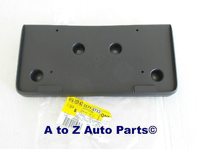 NEW 2010-2014 Chevrolet Equinox Front License Plate Bracket, OEM GM