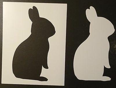 Bunny Rabbit Silhouette 8.5