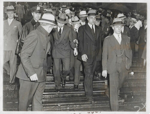 Lucky Luciano Mafia Godfather 1936 Cosa Nostra Type 1 Original Photo