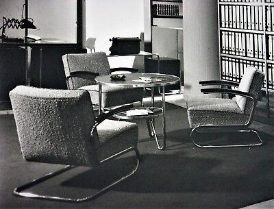 Erich Angenendt Interieur Foto Büro Mauser Sitzgruppe Vintage Industrie Photo