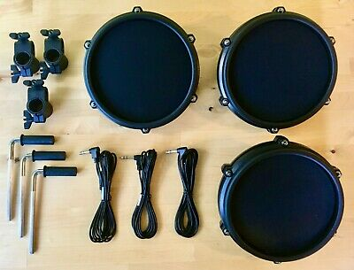 Alesis Yamaha Roland Drums rack 3 Way T Bracket Clamp Mount 38mm