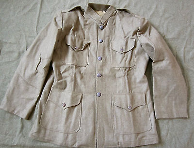 WWI US ARMY WOOL INFANTRY M1912 M1917 COMBAT FIELD JACKET TUNIC-XLARGE