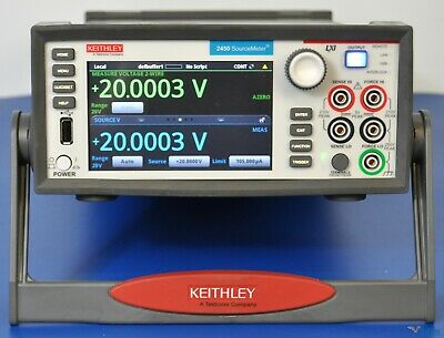 Keithley 2450 Sourcemeter Smu Source Meter 200v 1a - Nist Calibrated Warranty