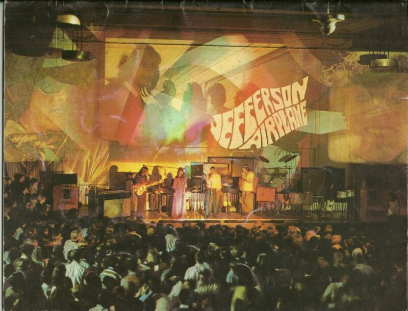 Jefferson Airplane Concert Tour Program 1967 Grace Slick Kantner Marty Balin