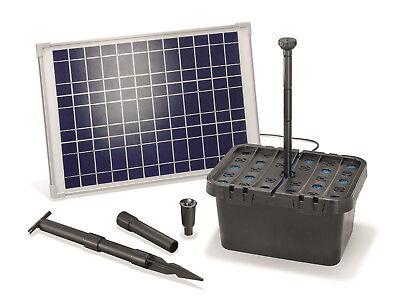 Solar Teichfilter Set 20/1300 Solarpumpe Gartenteich Pumpenset esotec 101067