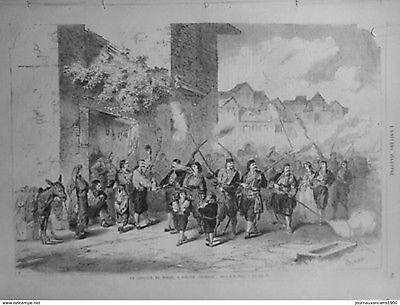 1866 UI7/3 DALMATIEN RIZANO PROZESSION HOCHZEIT LIEDER TÄNZE BRENNER STRAßE