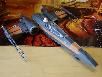 STAR WARS VEHICLE 2015 FORCE AWAKENS COLLECTION POE'S X-WING