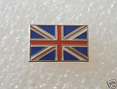 Small Union Jack Flag Great Britain Flag Enamel Pin / Lapel Badge