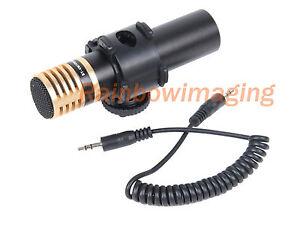 Boya-BY-VM100S-Metal-Stereo-Condenser-Microphone-Panasonic-GH3-G10-G3-GH2-GF6