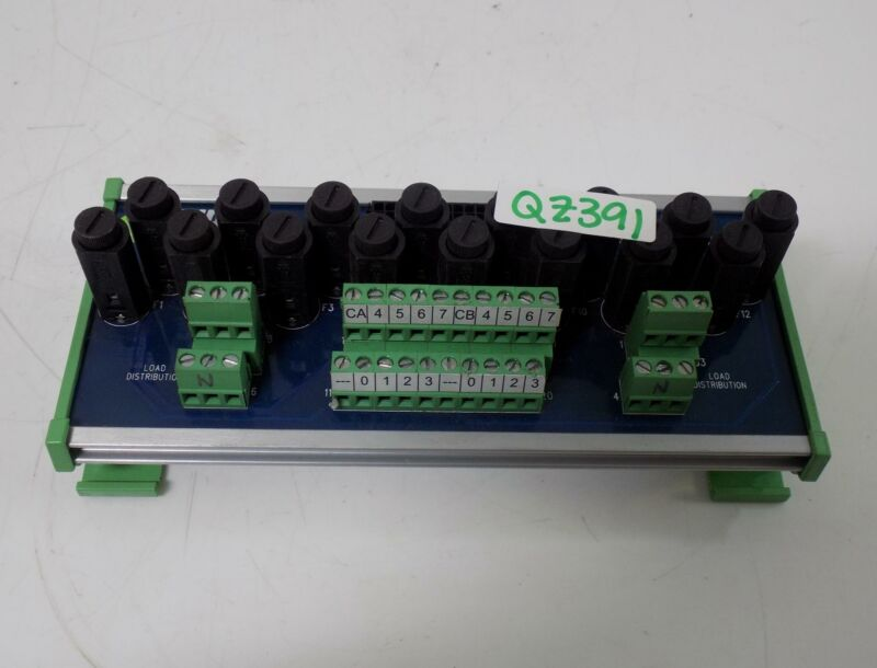 AUTOMATION DIRECT ZIPLINK FUSE MODULE 20 PIN ZL-RFU20