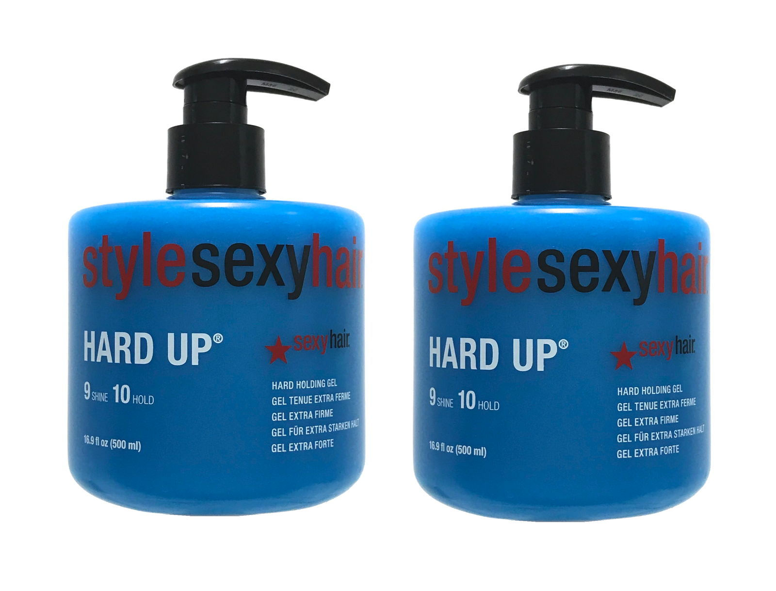 Sexy Hair Hard Up Gel, Packaging May Vary, 16.9-Ounce Pump B