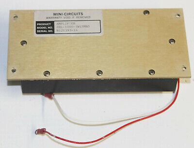 Minicircuits Zhl-1000-3w Amp - Amplifier Sma 3w 500-1000 Mhz 50 Mini-circuits