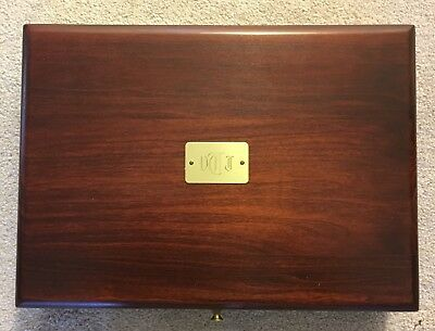 Reed & Barton Hand-Crafted Wooden Storage Chest Eureka Mnfg Co
