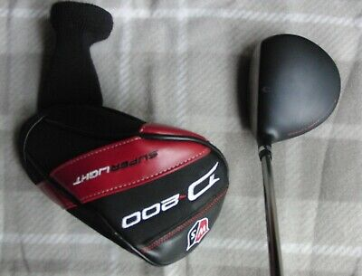 Wilson Staff D200 3 Wood 15 Chrome Elements Stiff + Head Cover Good Condition