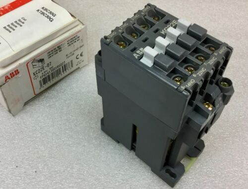 ABB MODEL KC22E-07 CONTACTOR RELAY 12VDC COIL FPH1413001R0227 NEW IN BOX