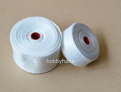 1 Roll Fiberglass Cloth Tape E-glass Wide 50mm 30m Long Fiber Plain Weave
