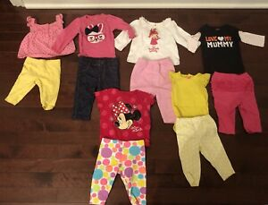 Girls 3/6 month clothing lot