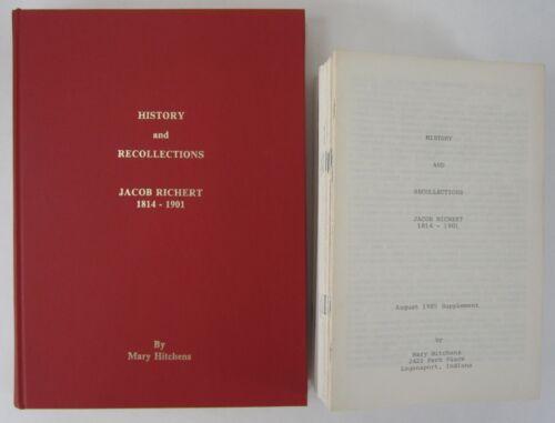 Jacob Reichert Family History Corydon Harrison County Indiana Genealogy Records
