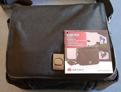 Delsey Black Camera Bag (Delsey Cortex 1 camera bag)