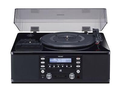 Teac LPR660USBPB LP-Cassette to CD Recorder/USB Home Theater