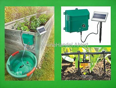 Solar Bewässerungssystem Pflanzen Wasserspender Bewässerung Pumpe Gewächshaus !!