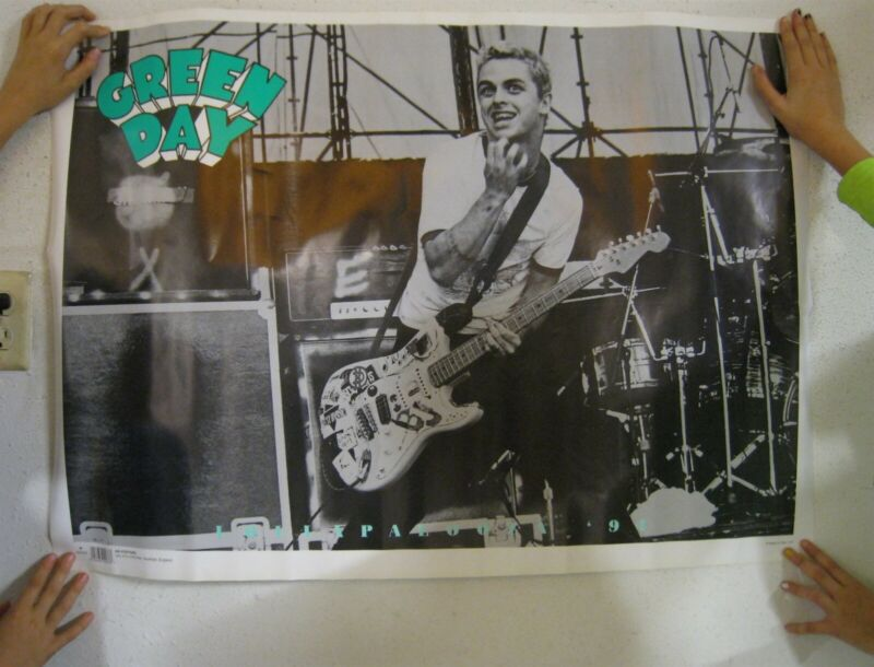 Green Day Poster Lollapalooza 1994