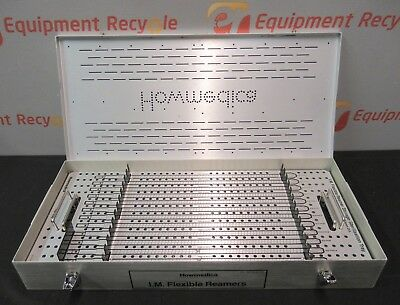 Howmedica 3210-9-100 Surgical Storage Sterilization Case Flexible Reamers