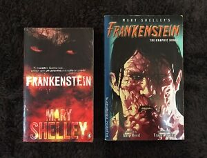 'Frankenstein' Mary Shelley, Novel and Graphic Novel Belmont Lake Macquarie Area Preview