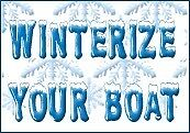 Winterize your boat before it's too late$$$$