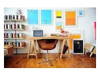 Collective Work Studio - rent a space in a shared office/workshop in Keyford ?