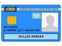 Fully Funded Construction NVQ's Available ---- Blue CSCS Card
