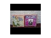 Two boxed sets of vinyl records Glenn Miller and Artie Shaw