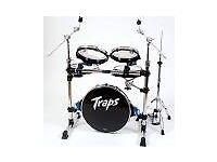 TRAPS A400NC PORTABLE DRUM KIT - EXCELLENT CONDITION - ALMOST NEW