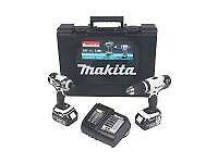 makita twin set 18v combi and impact driver