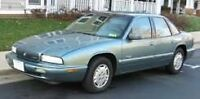 1995 Buick Regal Custom Sedan LOW KMS!! $1000