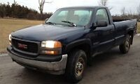 2000 GMC 2500 SIERRA 4X4 PARTING OUT