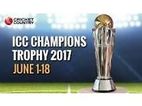 Champions Trophy tickets - India v Pakistan 6 tickets @ £225 ea