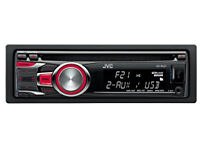 JVC car stereo KD-R421, used but in good condition