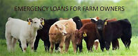 Emergency money for Home and Farm Owners. Need money. Call me.