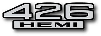 426 Hemi Vintage Decal/sticker
