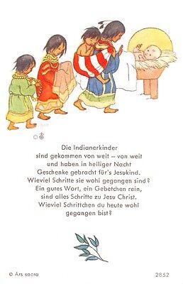 "Fleißbildchen Heiligenbild Gebetbild Andachtsbild Holy card Ars sacra"" H120""60S"