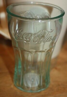 "Mini Small Coca-Cola Drinking Glass Plastic 3"" Tall Coke Vintage/Retro Style"