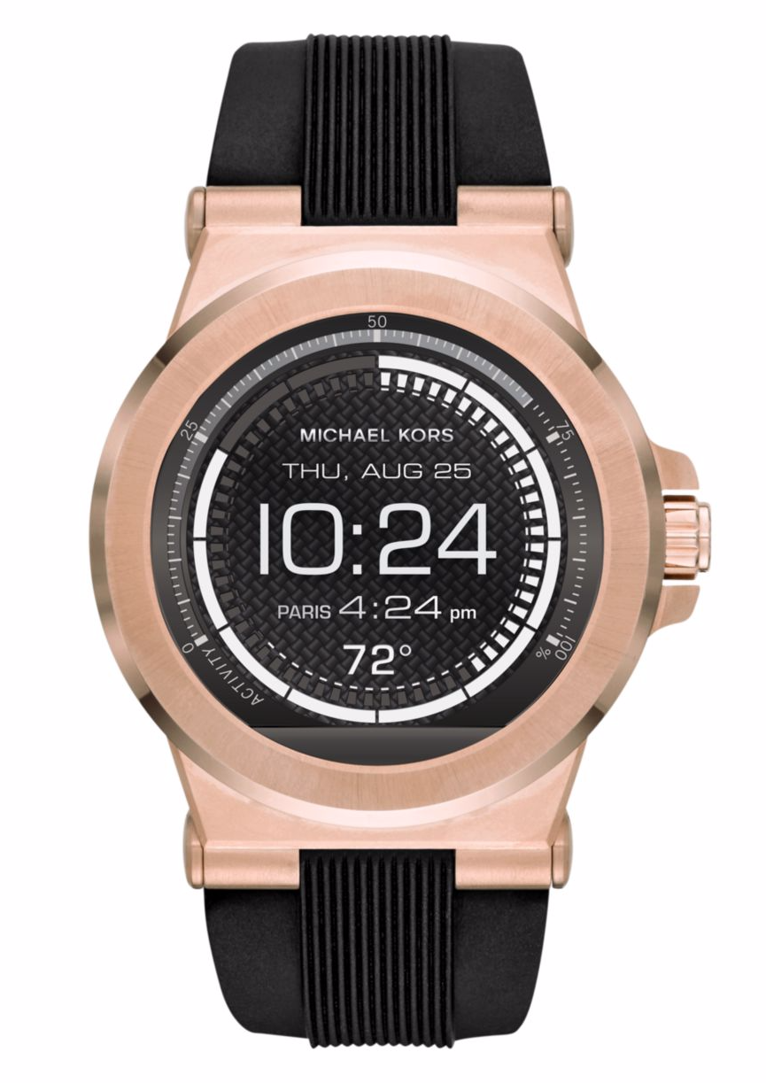 4dd522244a0b Michael Kors Access Touch Screen Black Dylan Smartwatch MKT5010 for ...