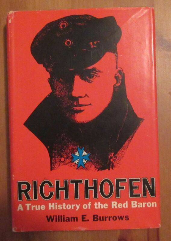 old book RICHTHOFEN BIOGRAPHY burrows