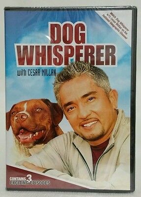 Dog Whisperer With Cesar Millan Volume 2 (3 Exciting Episodes DVD) New Sealed!